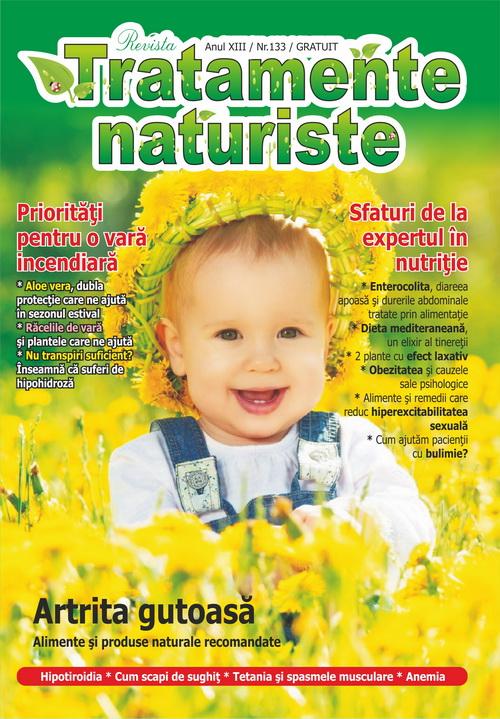 Coperta revista Tratamente naturiste nr.133